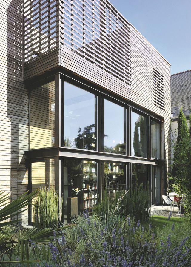 Extension Maison De Ville maison bois : extension d'une maison de ville de 45 m2 | pinterest