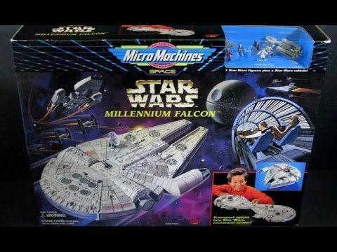 Star Wars Micro Machines Millennium Falcon Playset