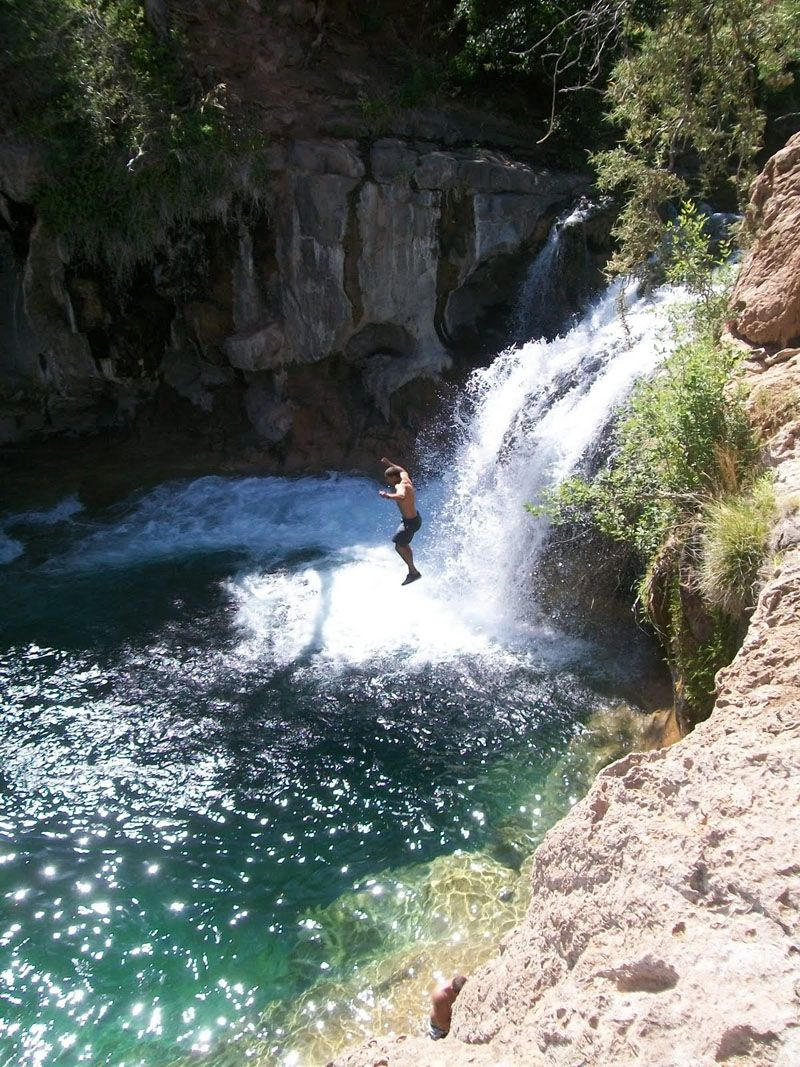 Fossil Creek Is A Perennial Stream Near The Community Of Strawberry Arizona Tributary
