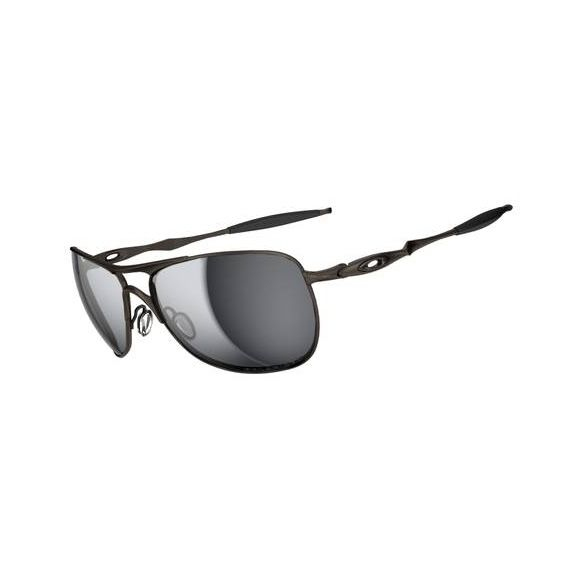7b3fa87f34d Oakley Titanium Crosshair Men s Polarized Sunglasses - Pewter(Frame) Black  Iridium Polarized(Lens)