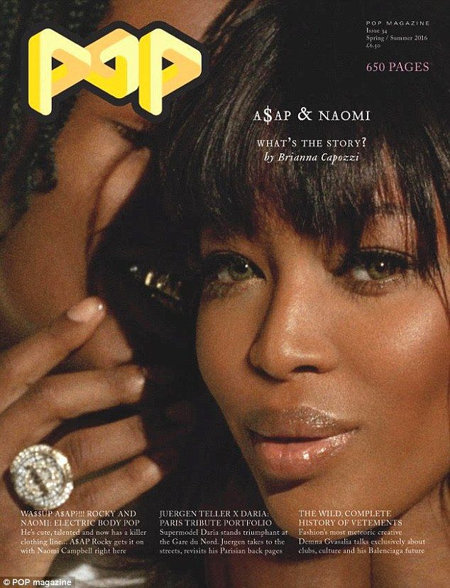 Naomi Campbell and ASAP Rocky Looks Super Hot in POP Magazine PhootShoot - http://www.yahoods.com/naomi-campbell-and-asap-rocky-looks-super-hot-in-pop-magazine-phootshoot/
