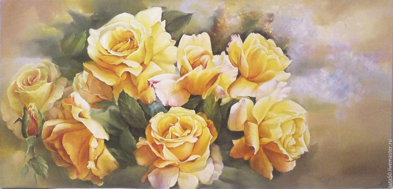 желтые цветы в картинах художников эстетической привлекательности, они