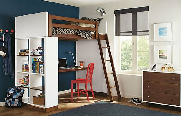 original design loft beds for storage and space pinterest lit mezzanine avec bureau lits. Black Bedroom Furniture Sets. Home Design Ideas