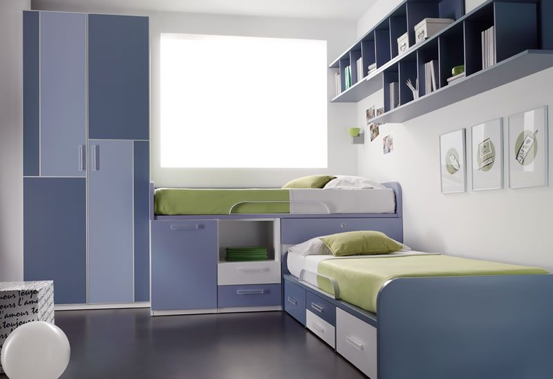 Camas correderas comprar muebles juveniles e infantiles for Diseno de muebles para dormitorio de nina