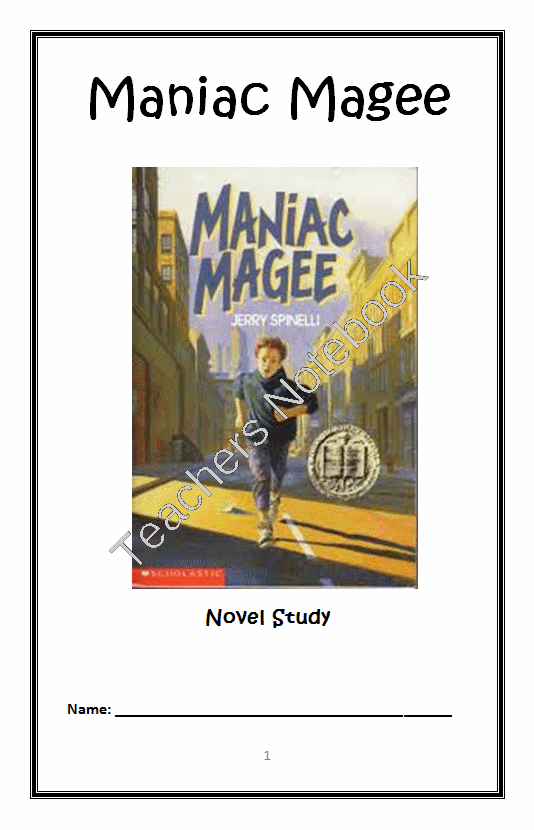 Maniac Magee Summary & Study Guide - BookRags.com