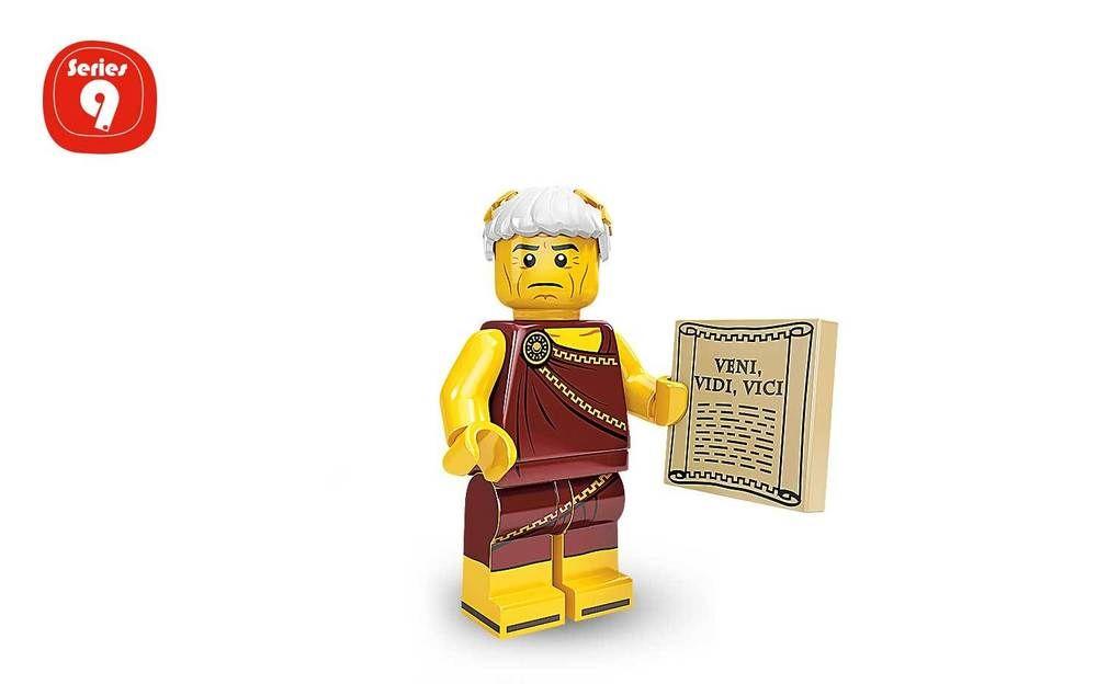 Sales Genuine Lego 71000 Series 9 Minifigure no 5 Roman Emperor