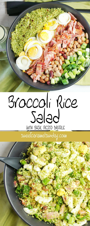 Broccoli Rice Salad | Sweet Caramel Sunday | Easy green ...