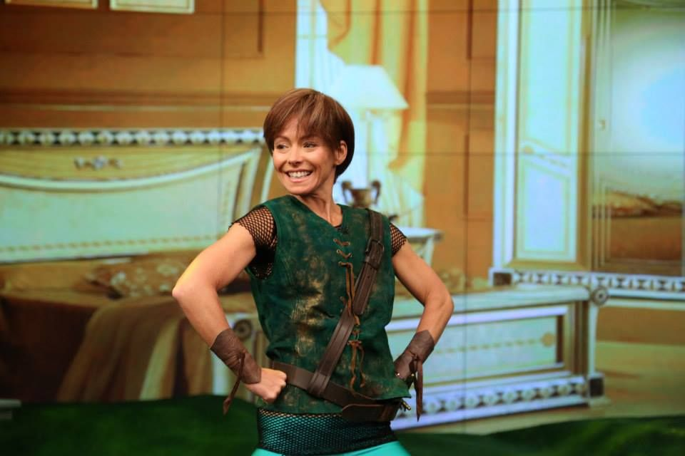 Kelly Ripa as Peter Pan in 'Peter Pan Live!' for 'LIVE's Best Halloween Show Ever...Seriously.'