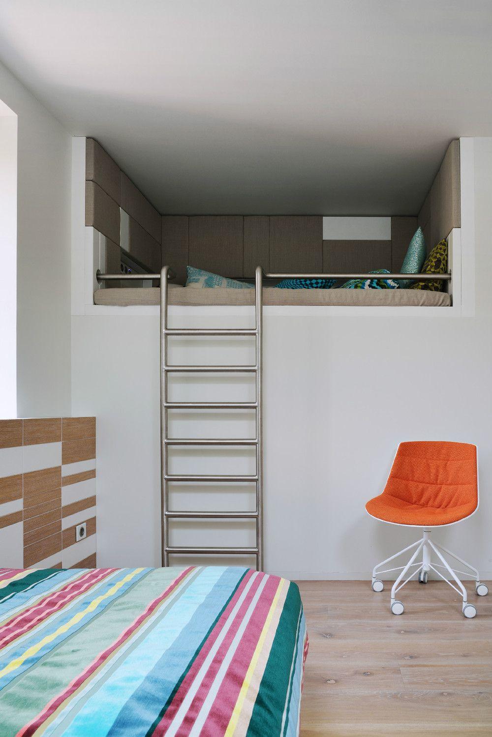 Teenage loft bedroom designs  Reconstruction of a House by Studio AI  Interior Decor  Pinterest