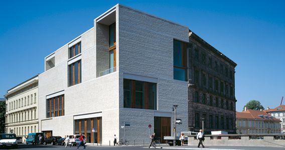 Am Kupfergraben 10 Art Gallery In Berlin By David Chipperfield