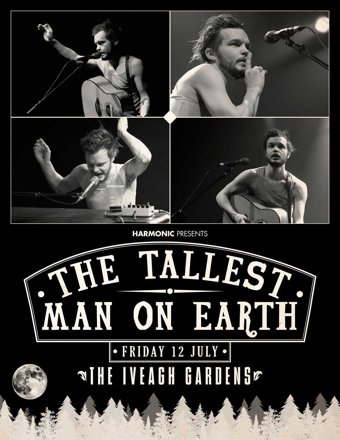 The Tallest Man On Earth & special guests The Iveagh Gardens, Dublin Friday 12 July 2013