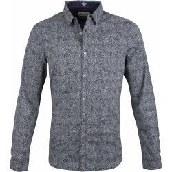 Photo of Benzin Shirt Blumen Design dunkelblau Petrol IndustriesPetrol Industries