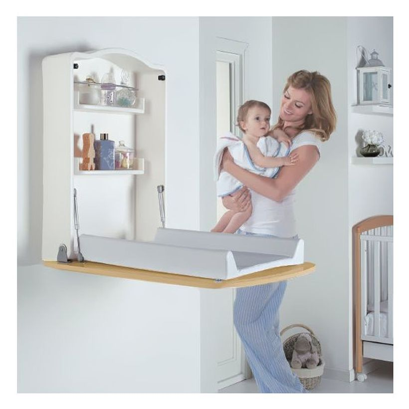 50 Amazing Folding Wall Table Ideas For Space Saving Baby Changing Tables Baby Shelves Baby Changing Unit