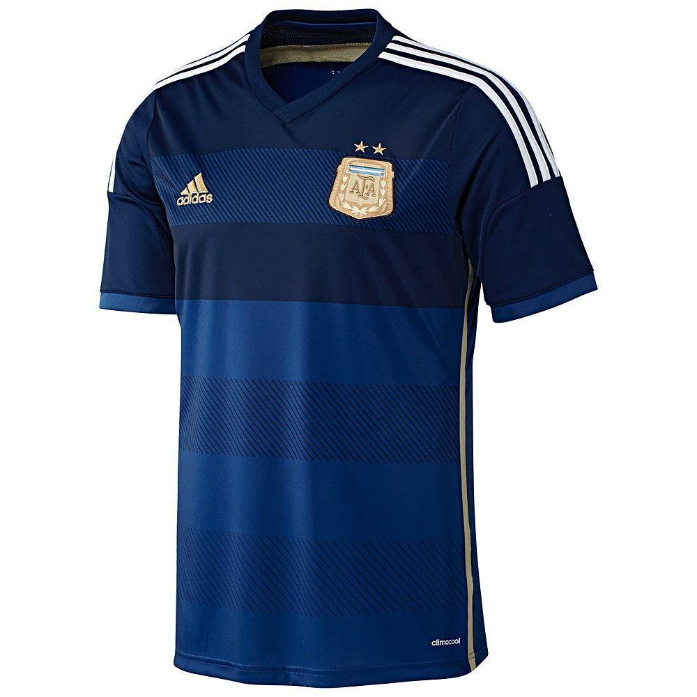 Adidas Argentina Away Jersey | World cup jerseys, Sport shirt ...