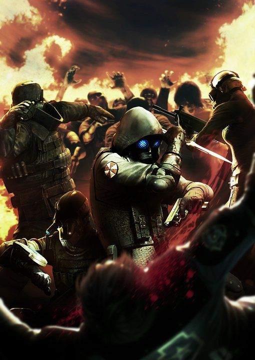 New Resident Evil Operation Raccoon City Concept Art Shows Leon Getting Killed Resident Evil Raccoon City Resident Evil Operation Raccoon City
