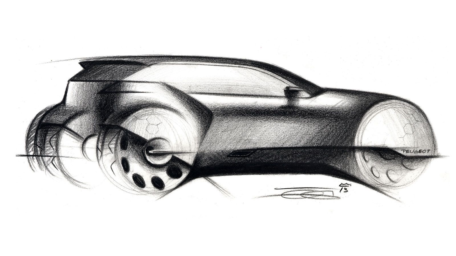 3rd price - Pencil interpretation by Olivier Gamiette