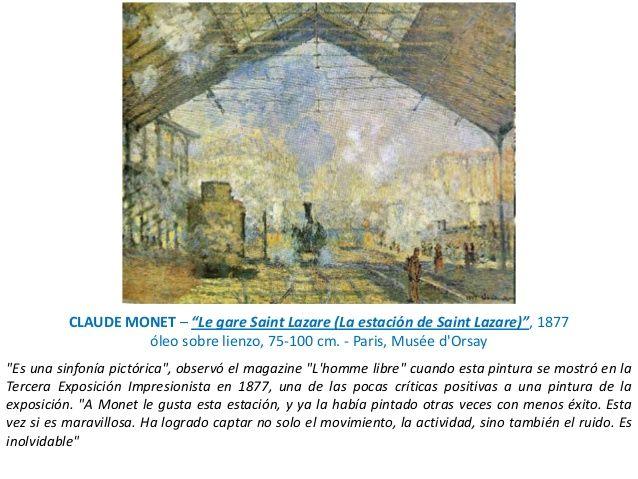 pinturas de claude monet el paris dorsay - Buscar con Google