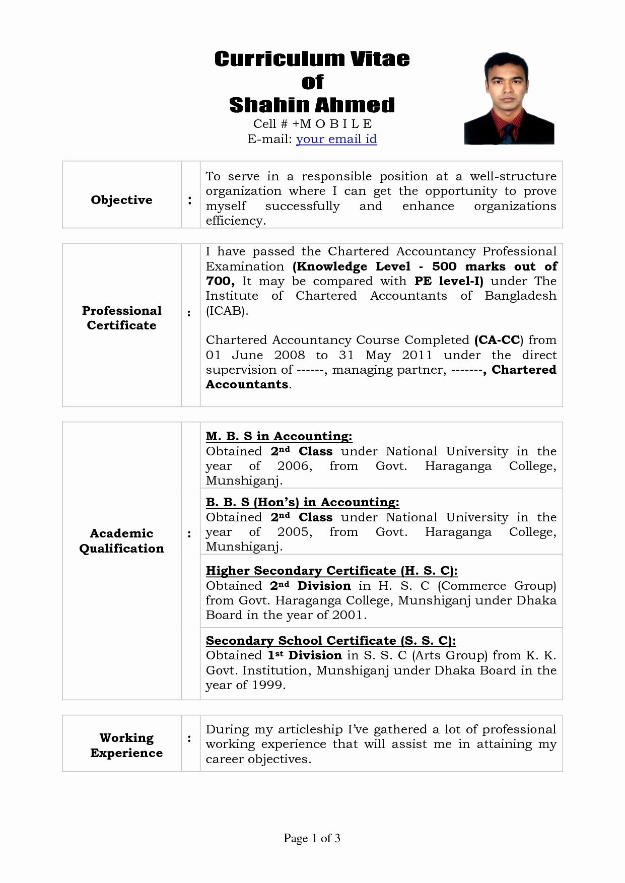 12 Unique Sle Resume For Articleship Resume Sle Ideas Resume Sle