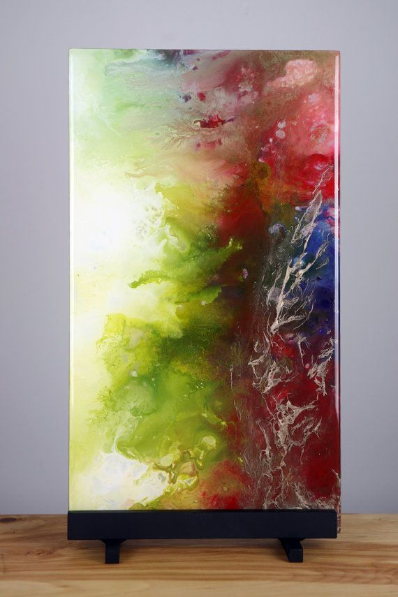 Spiritual Unique Fluid Abstract Painting Free By