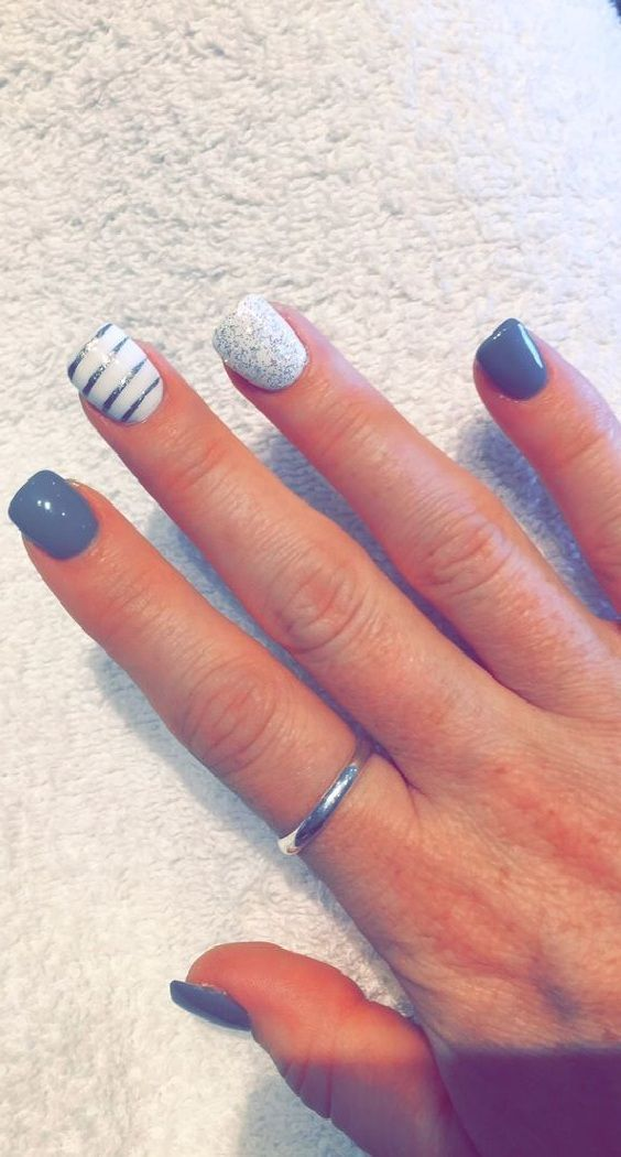 21 Exquisite nail art and design ideas. Nail Designs. Unique, Cute, Simple - 21 Exquisite Nail Art Ideas [Nail] Trends Pinterest Summer