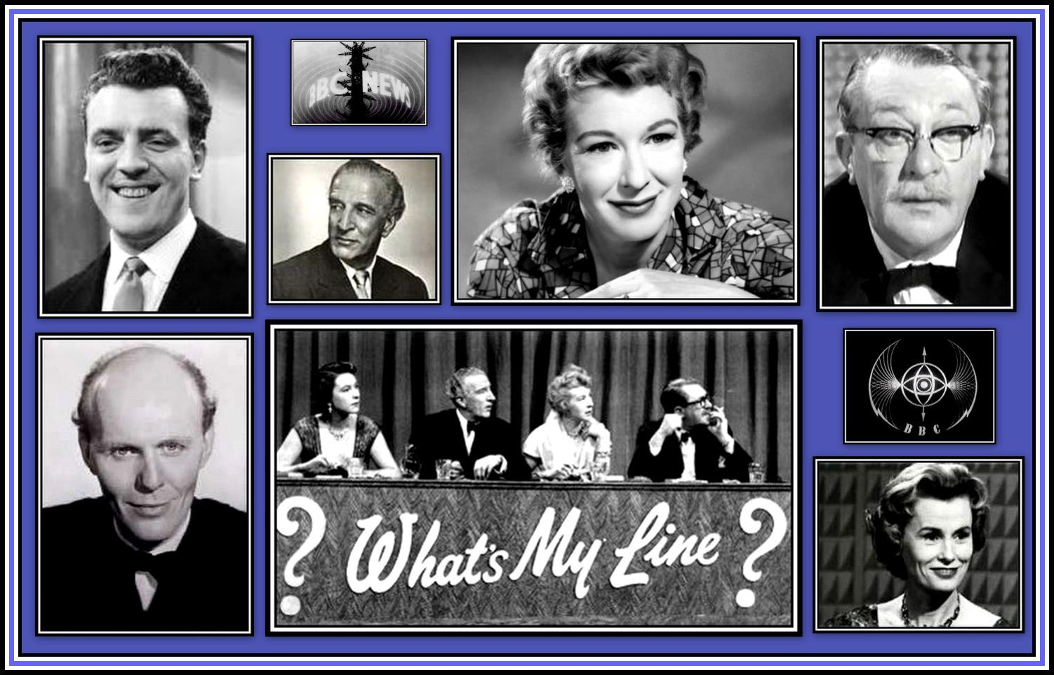 What's my Line Panelist Collage