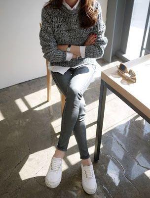 Mode und Stil kuratieren #koreanstyleclothing