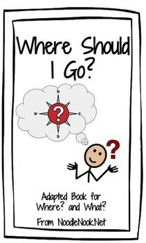 Adapted Book: Where Should I Go? Inferential Comprehension