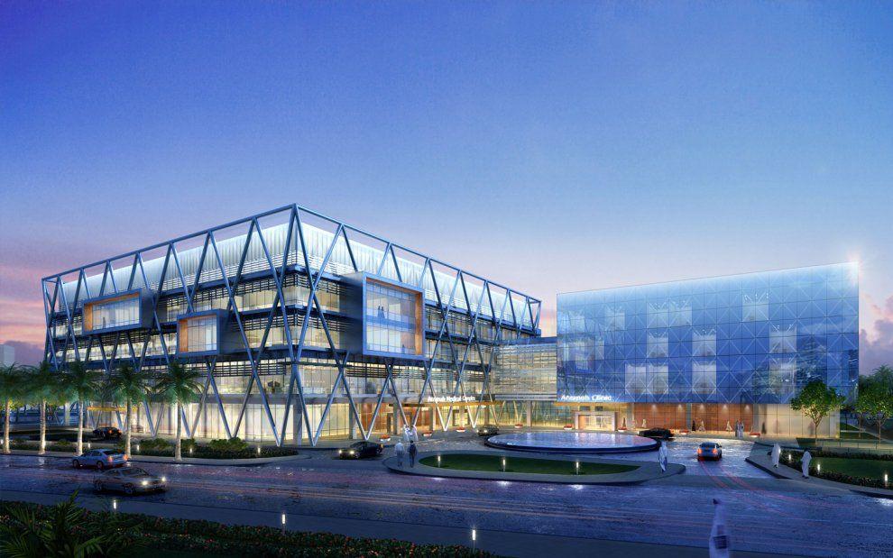 Arzanah Medical Complex,  diagonali