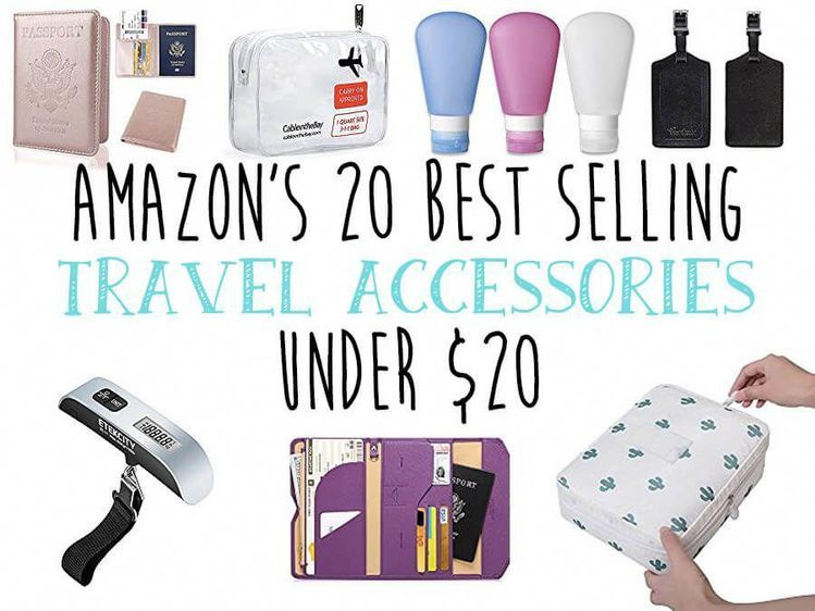 Travel on a budget with these must have items that are so cheap you can afford to get them all. These Amazon best seller travel accessories are a must! #travelfrases