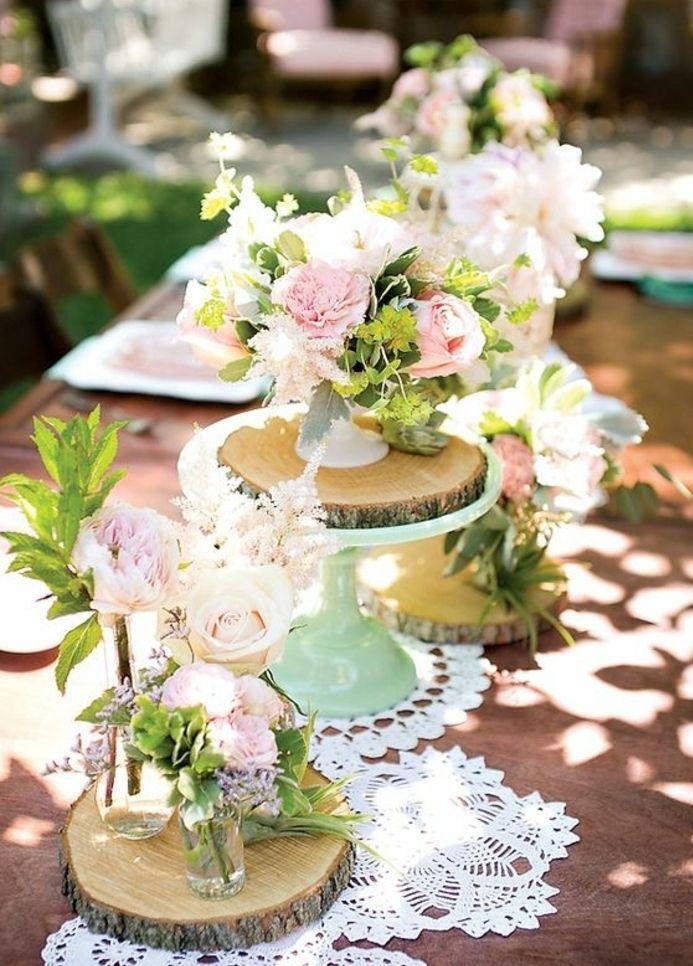 bouquet de fleurs mariage champetre chic
