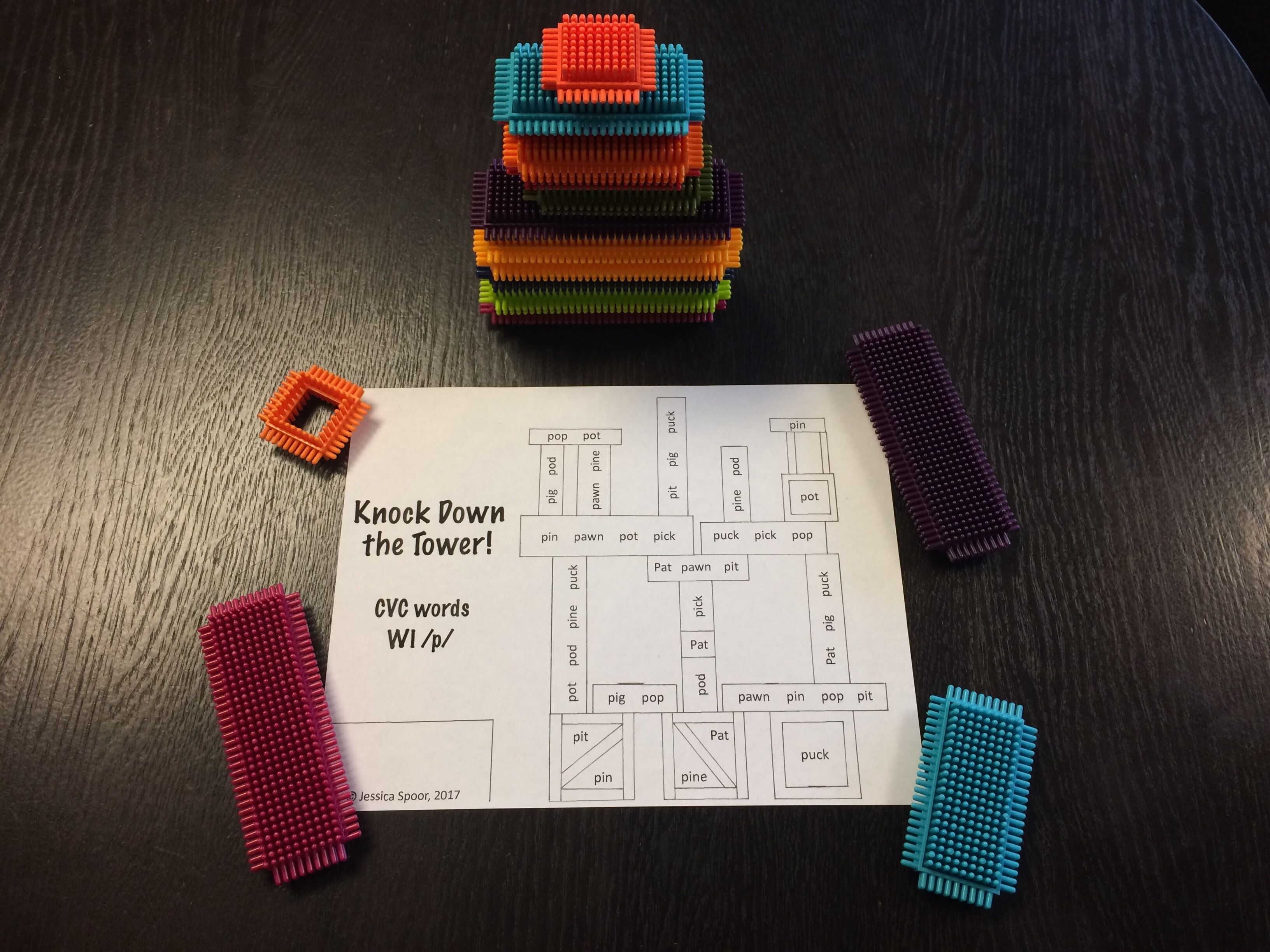 Knock Down The Tower Block Companion Sheets A Super