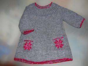 48329da68897f modèle tricot robe fille 4 ans