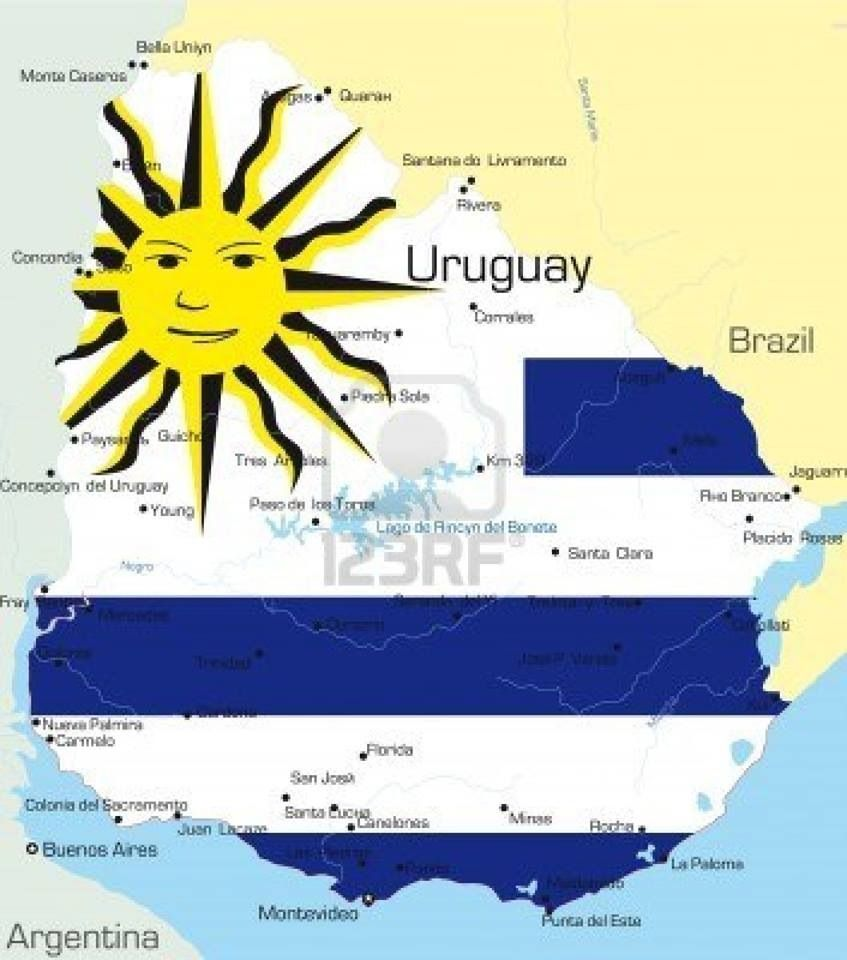 Uruguay Only Country In The World Where The Flag Shows A Smiling