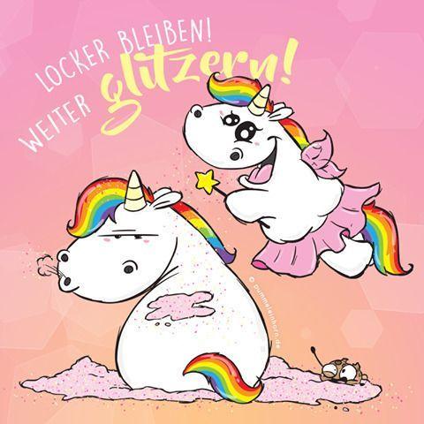 #pummeleinhorn  Glitzer, überall Glitzer! #littleunicorn