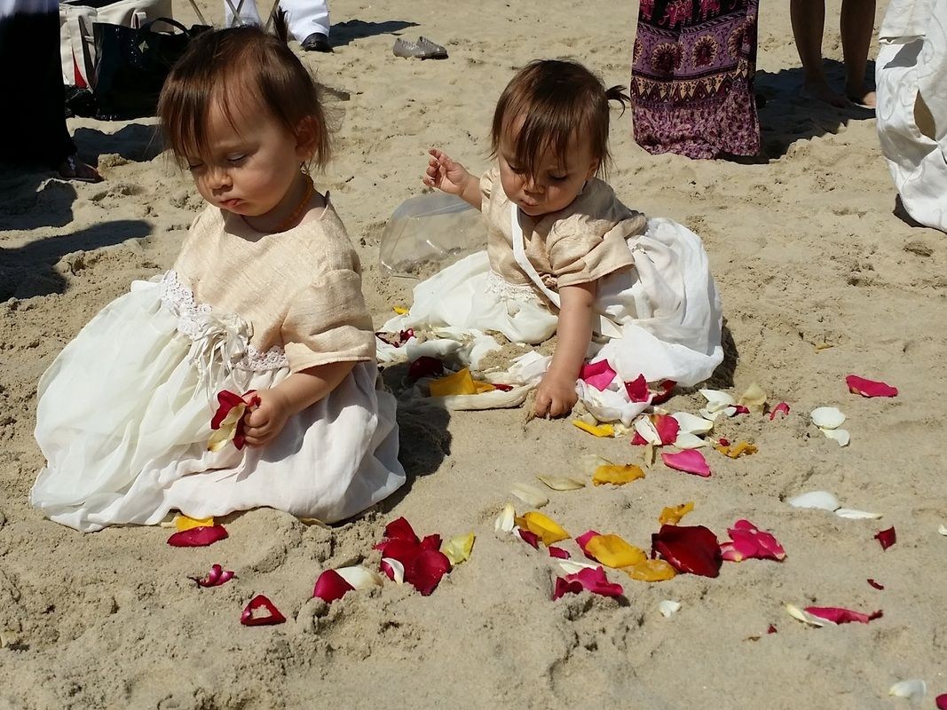 Today's baby blessing on the beach in Spring Lake NJ