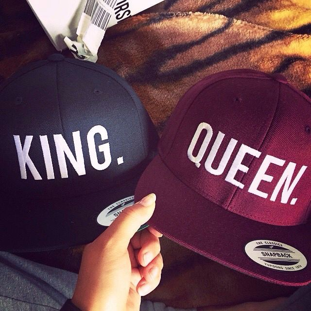 4f0cf4f6411 King Queen snapback Get snapback hats from www.hats-cool.com More