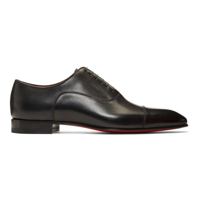 8618cdfba1ae CHRISTIAN LOUBOUTIN CHRISTIAN LOUBOUTIN 黑色 GREGGO 牛津鞋.  christianlouboutin   shoes