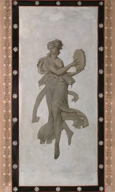 La salle à manger  danseuse pompéienne Musée national des - salle a manger louis