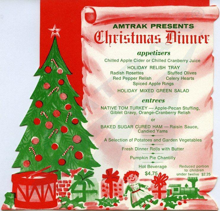 1970 food menu Multicolor printed paper menu created for - dinner menu