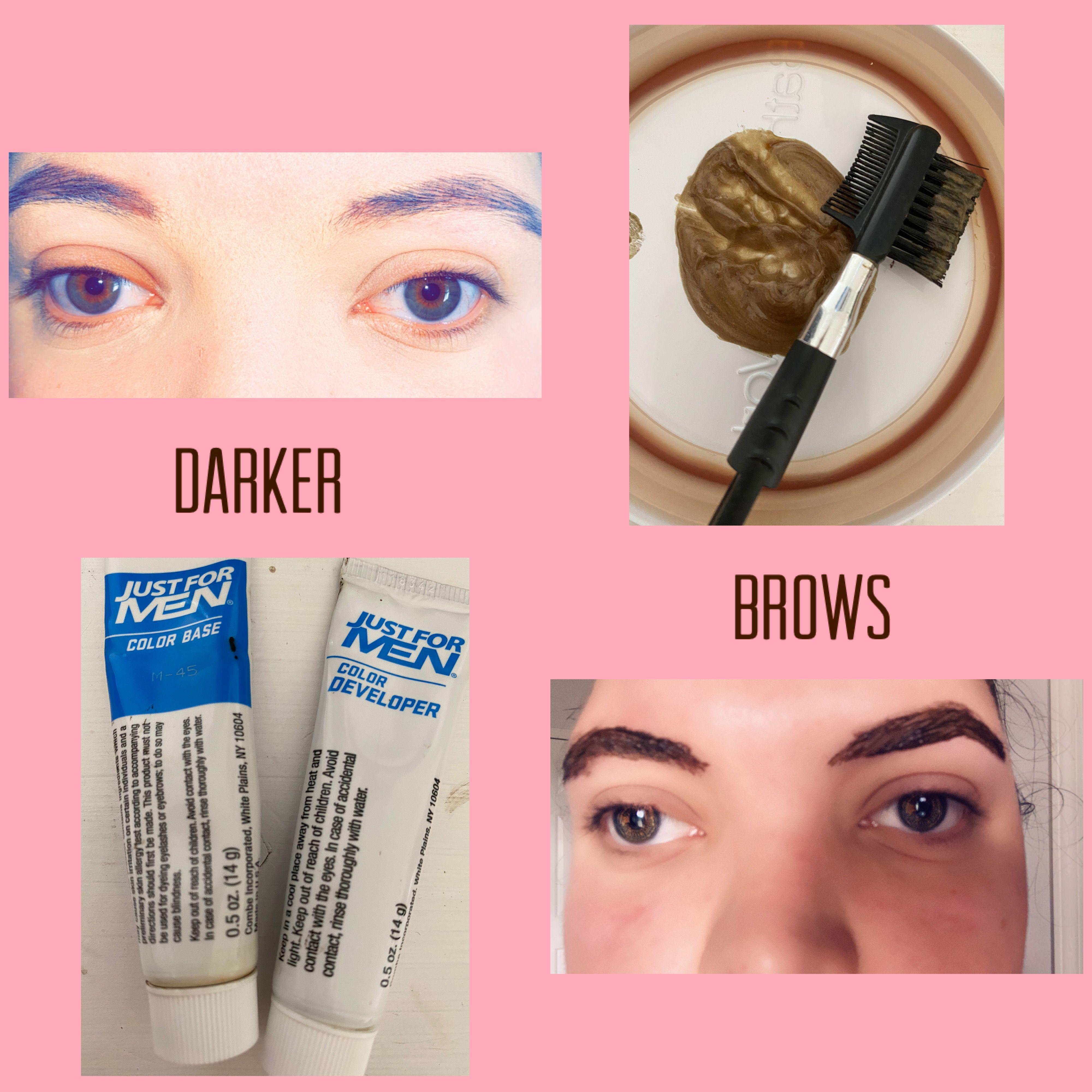 Darker Brows In 2020 Dark Brows Dark Eyebrows Just For Men