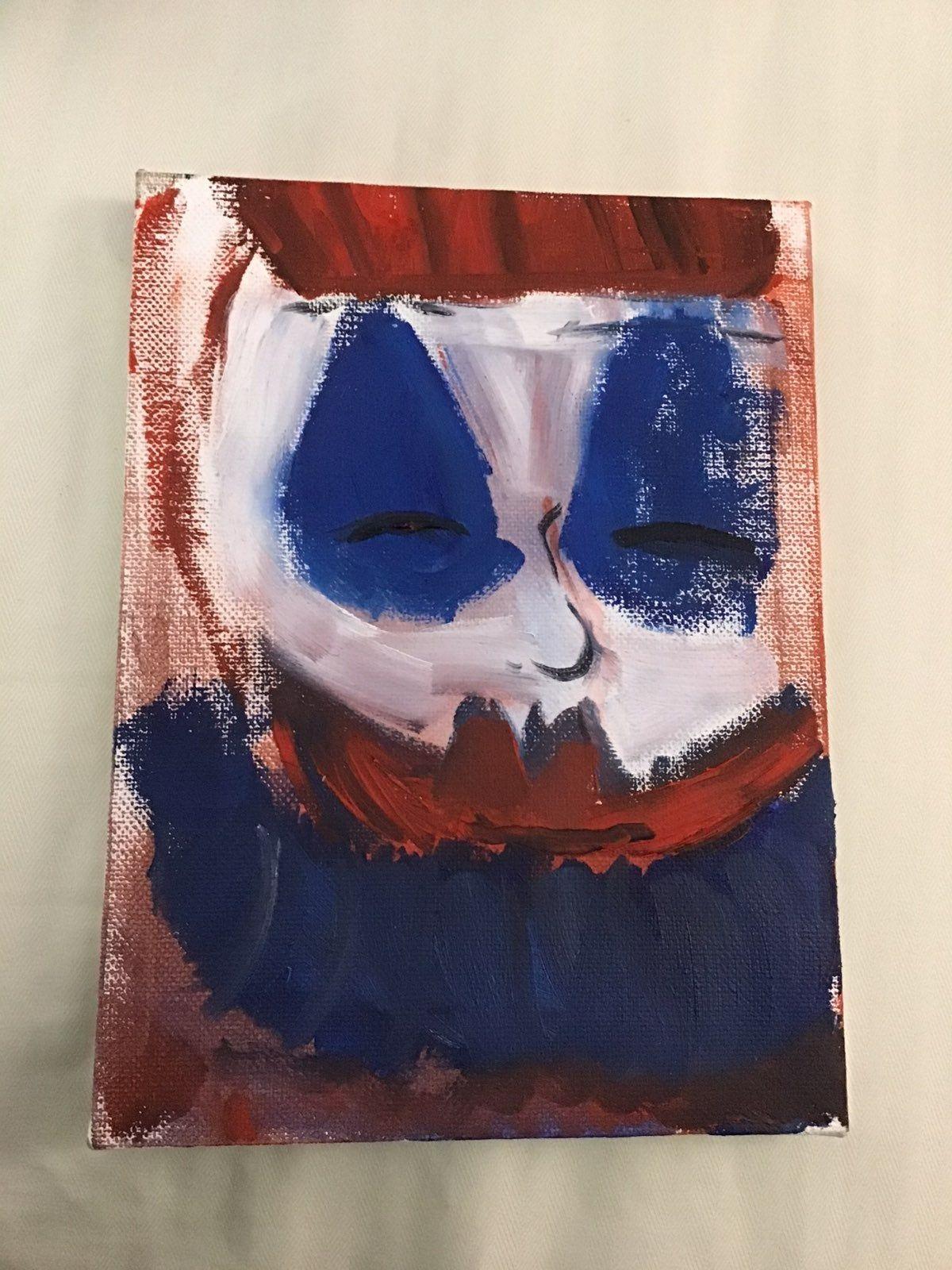 John Wayne Gacy oil panting as Pogo   John wayne gacy art ...