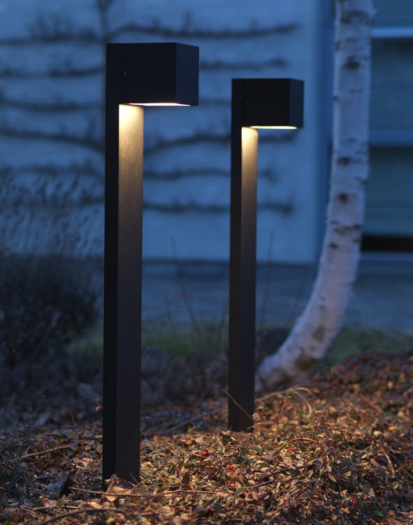 Outdoor Light Stand Simple Cube Xl Stand Outdoor For Residential Usedesign Ronni Gol Www Decorating Inspiration