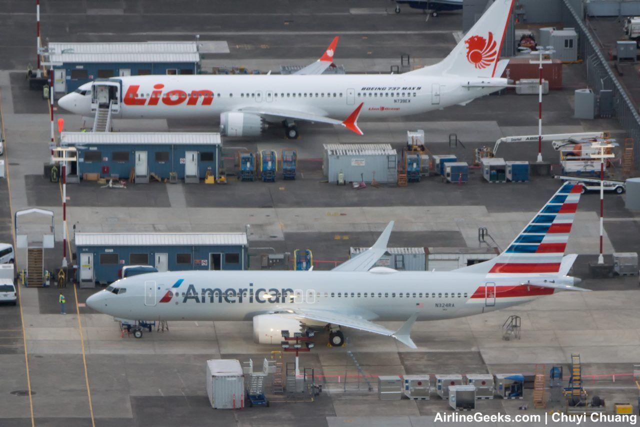 American Airlines Fleet Boeing 737 MAX 8 Details and Pictures
