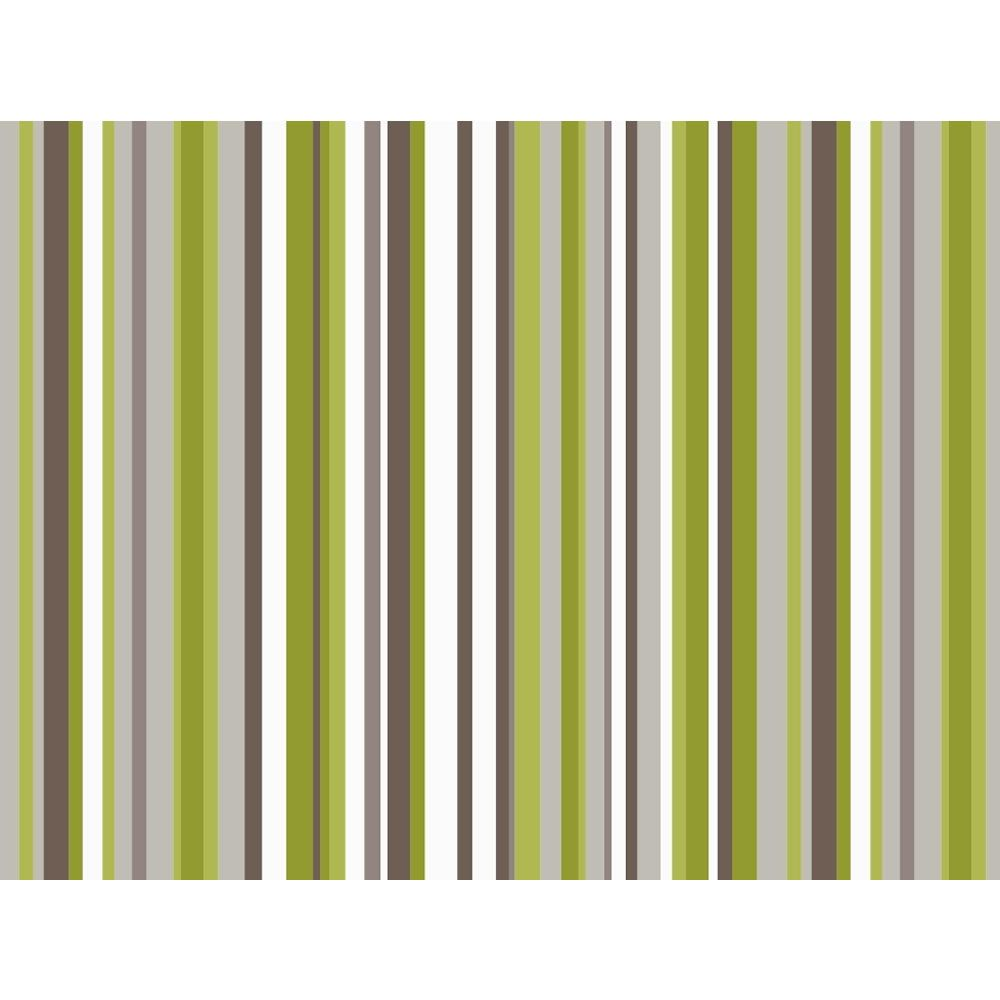 Arthouse Opera Sophia Stripe Textured Wallpaper Green