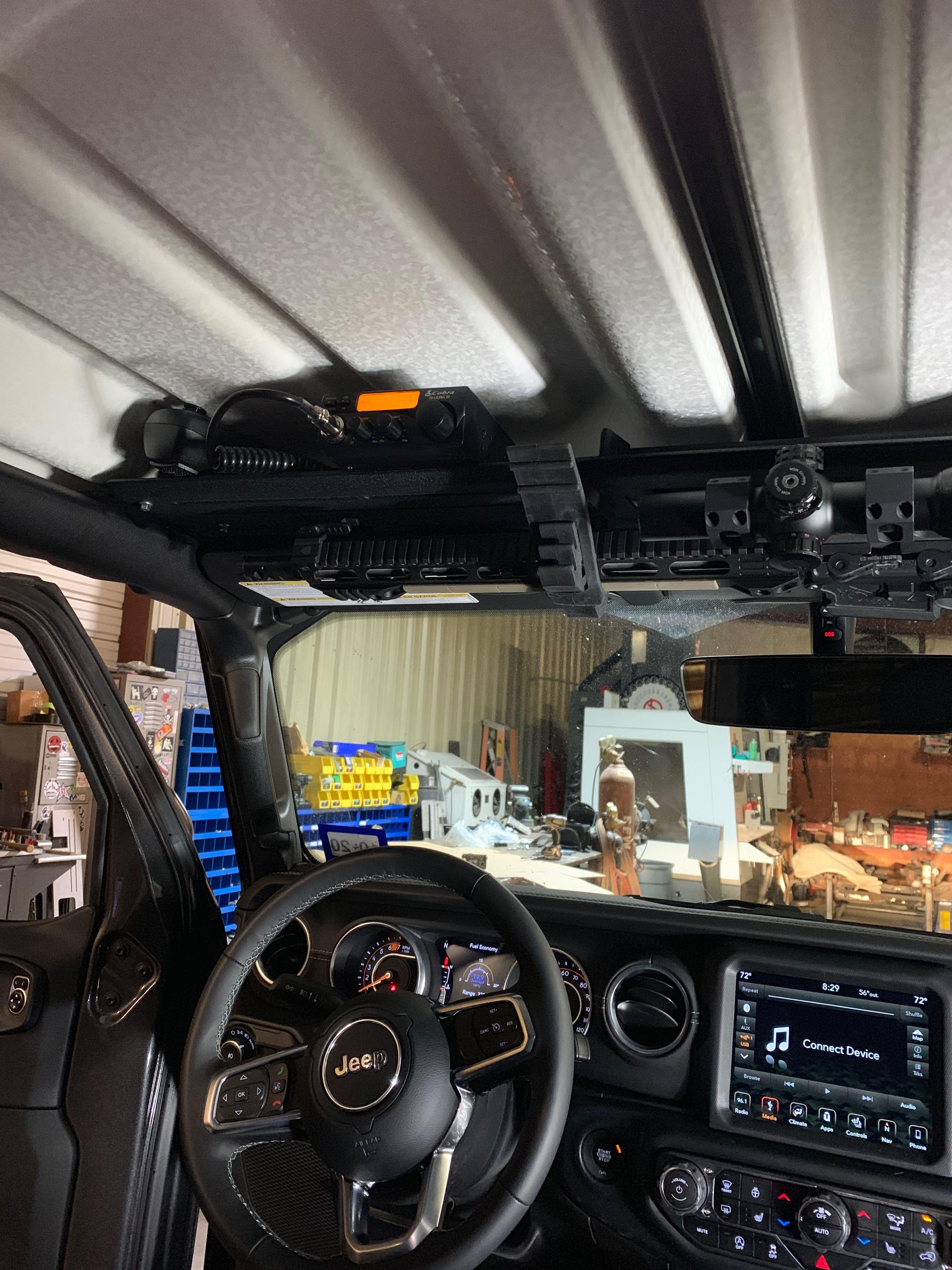 Jl Jeep Overhead Mount Overland Truck Jeep Overlanding