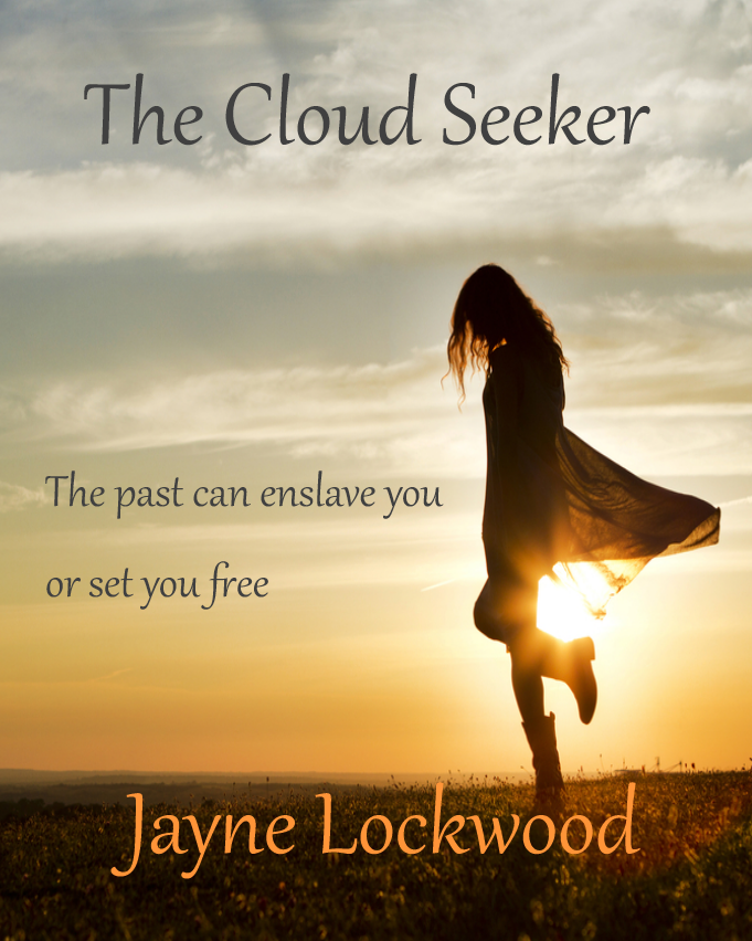 CreateSpace cover for The Cloud Seeker Book cover, My