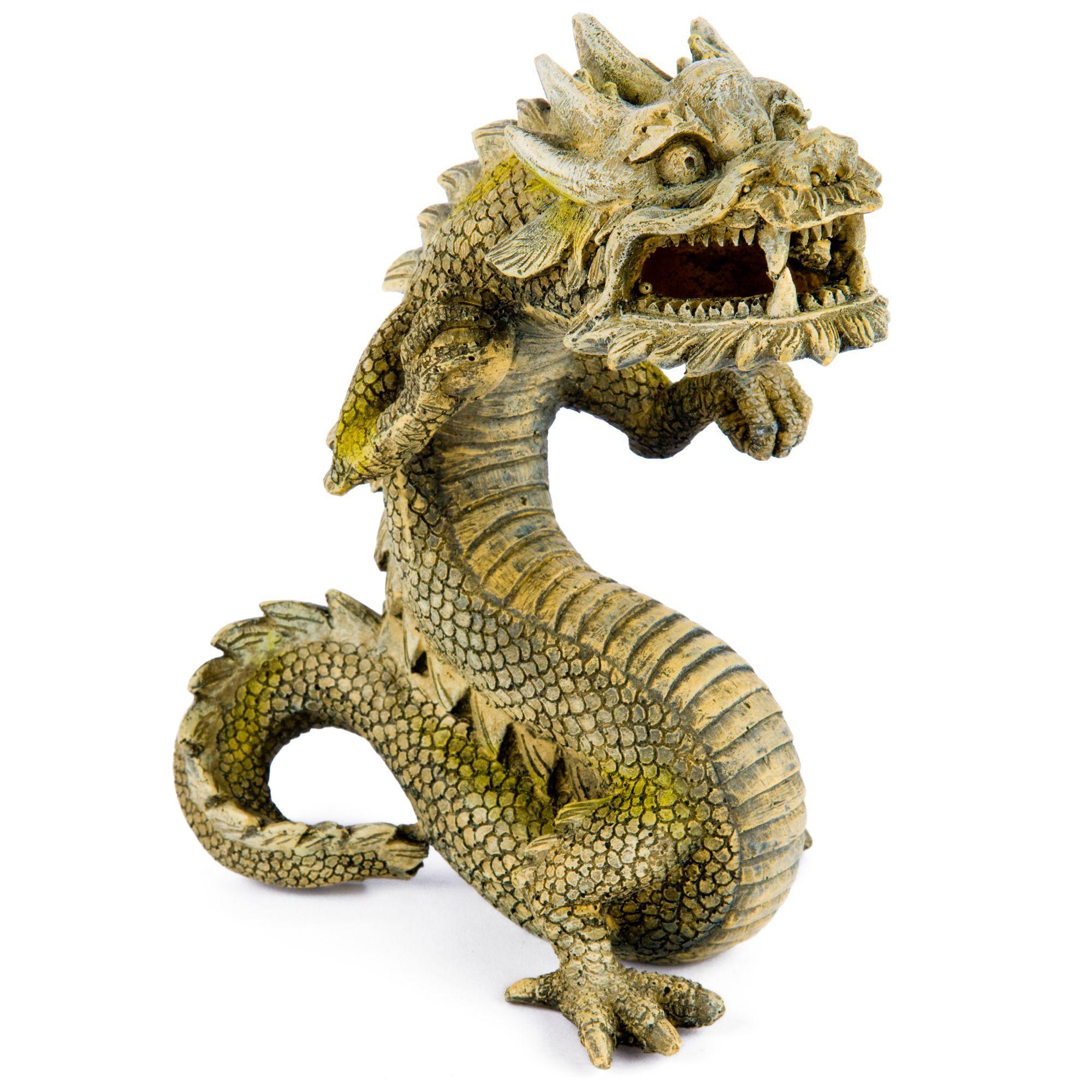 Pet Supplies Decorations Balinese Dragon Aquarium Ornament Fish Tank