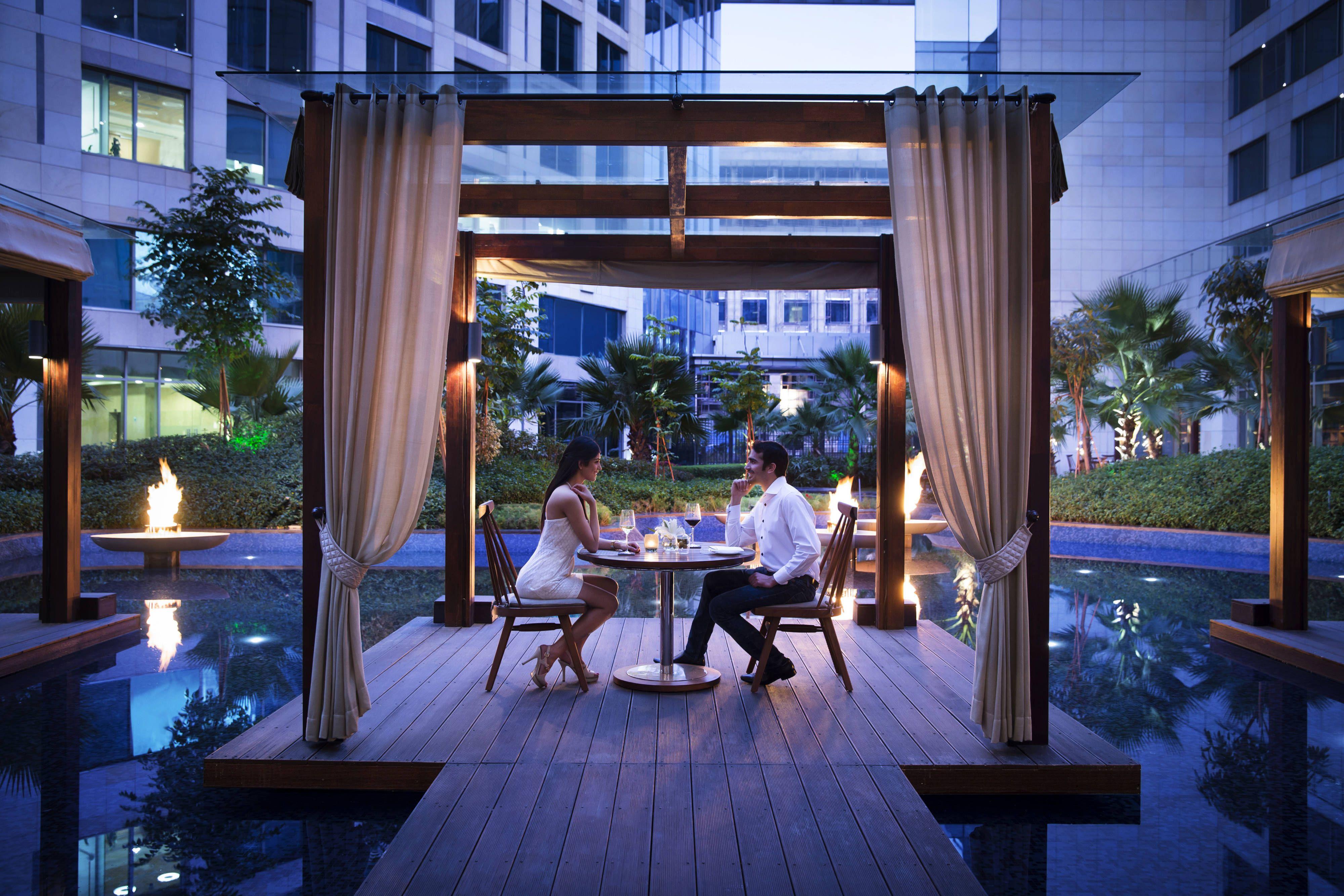 Jw Marriott Hotel New Delhi Aerocity Jw Lounge Outdoor Cabana Holiday Suite Visiting Romantic Restaurant Marriott Hotels Most Romantic