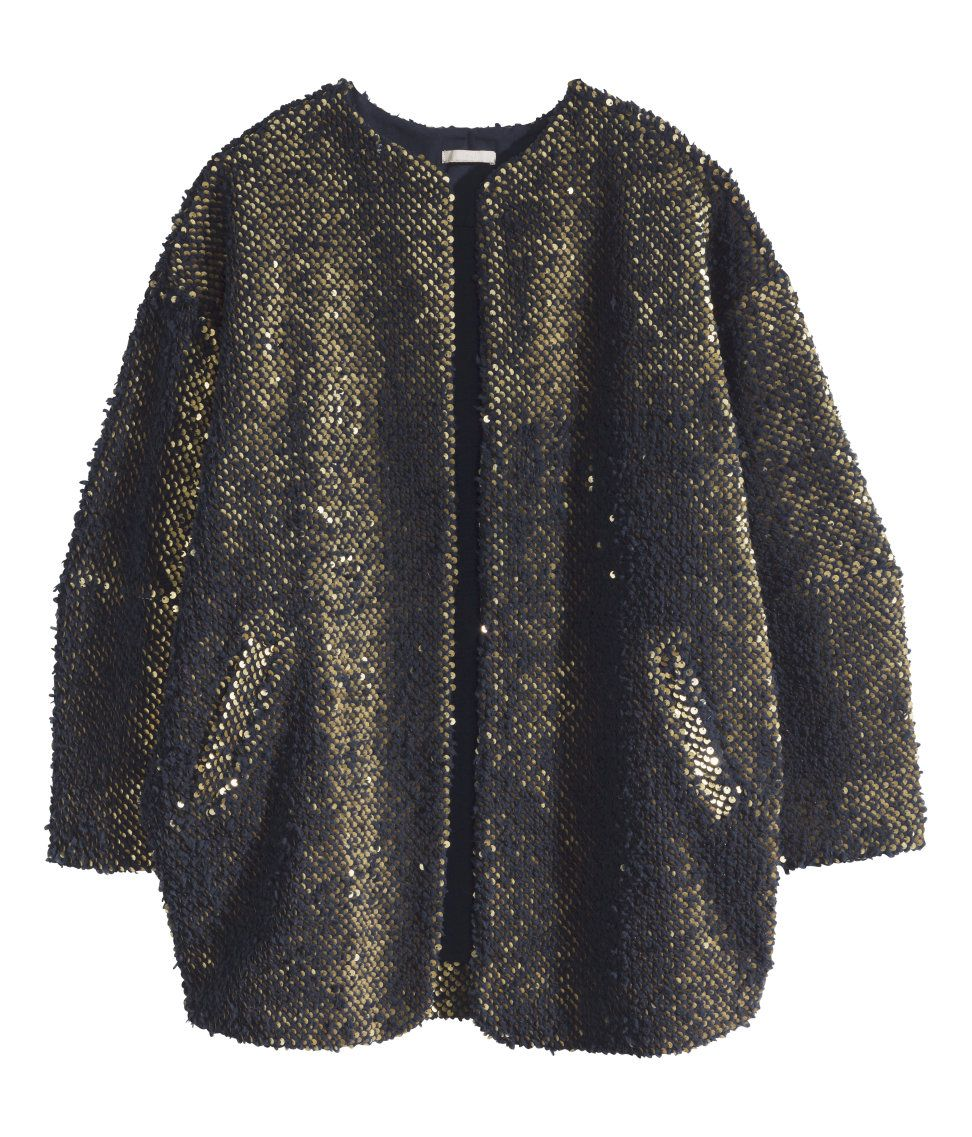 black&gold jacket | H&M DE