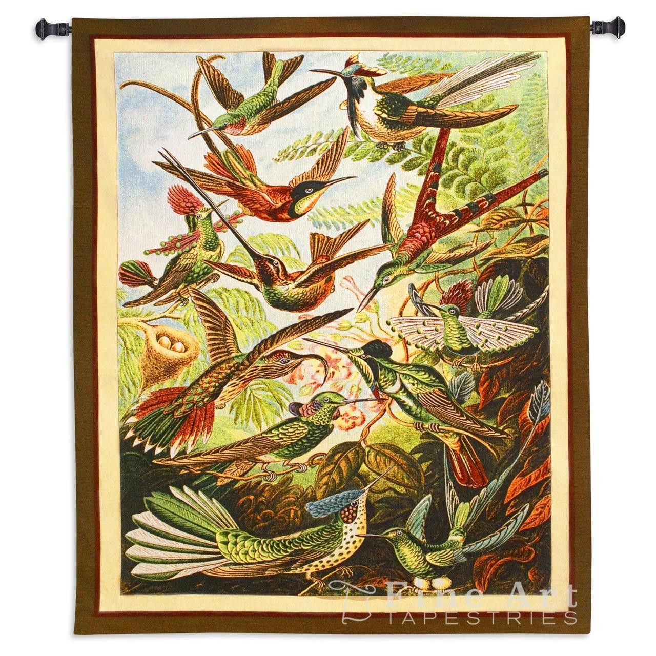 Trochilus Art Tapestry Wall Hanging | Tapestry wall hanging ...